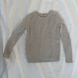 Loft sweater with sparkles